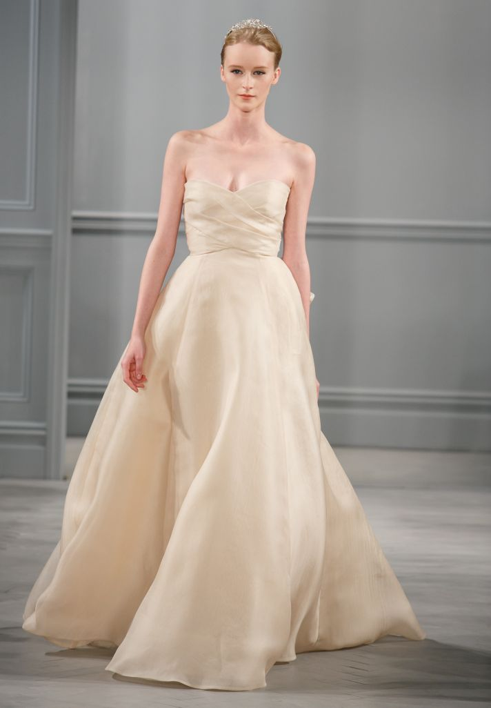 Spring 2014 Wedding Dress Monique Lhuillier Bridal Ribbon 2