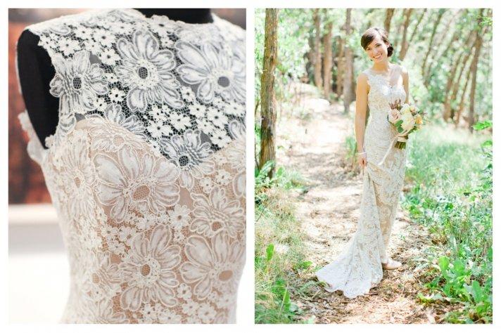 Lace wedding dress Spring 2014 Bridal Anna Maier