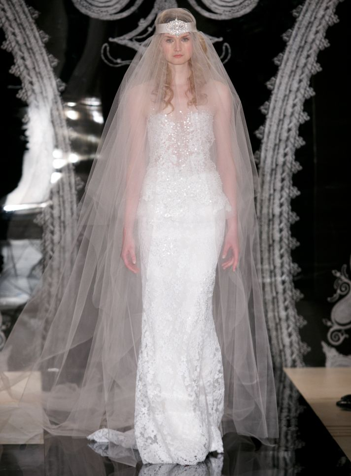 Reem Acra Wedding Dress Spring 2014 Bridal Johanna Ella