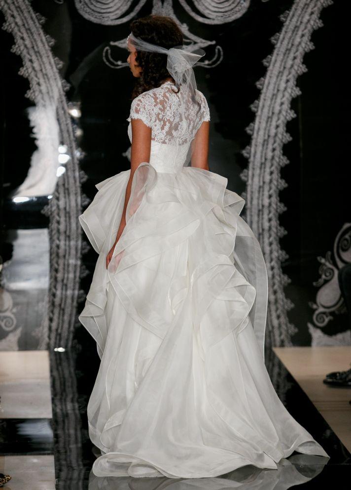 Reem Acra Wedding Dress Spring 2014 Bridal Bianca