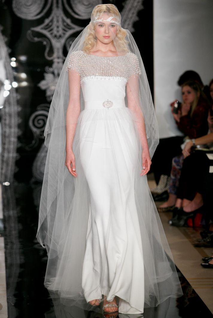 Reem Acra Wedding Dress Spring 2014 Bridal Daria