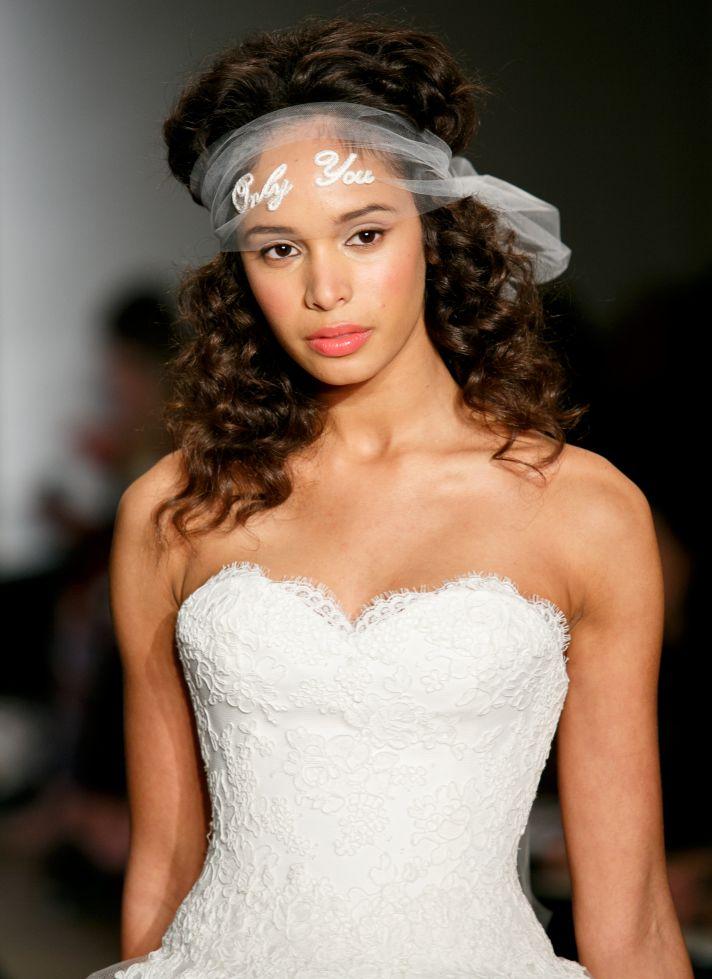 Beautiful bridal details at Reem Acra 1