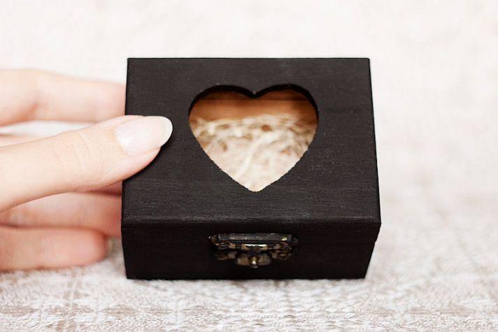 black matte wedding box 2