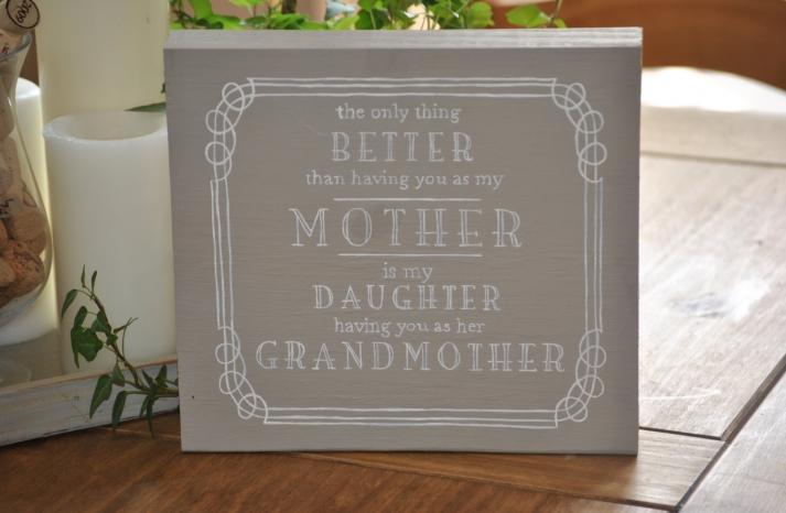 Heartfelt mothers day art