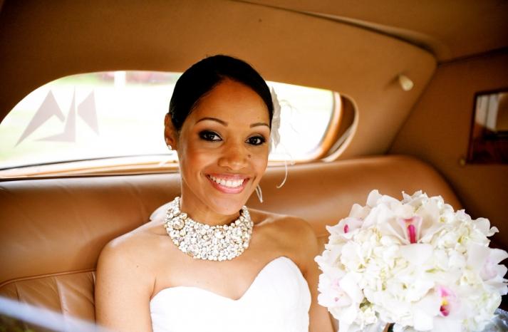 Statement wedding jewelry crystal bib necklace