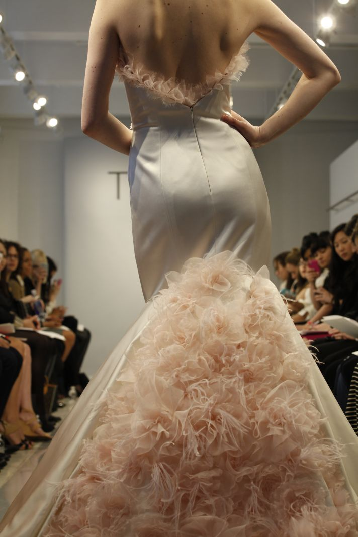Theia Spring2014 wedding dress bridal gown Flora