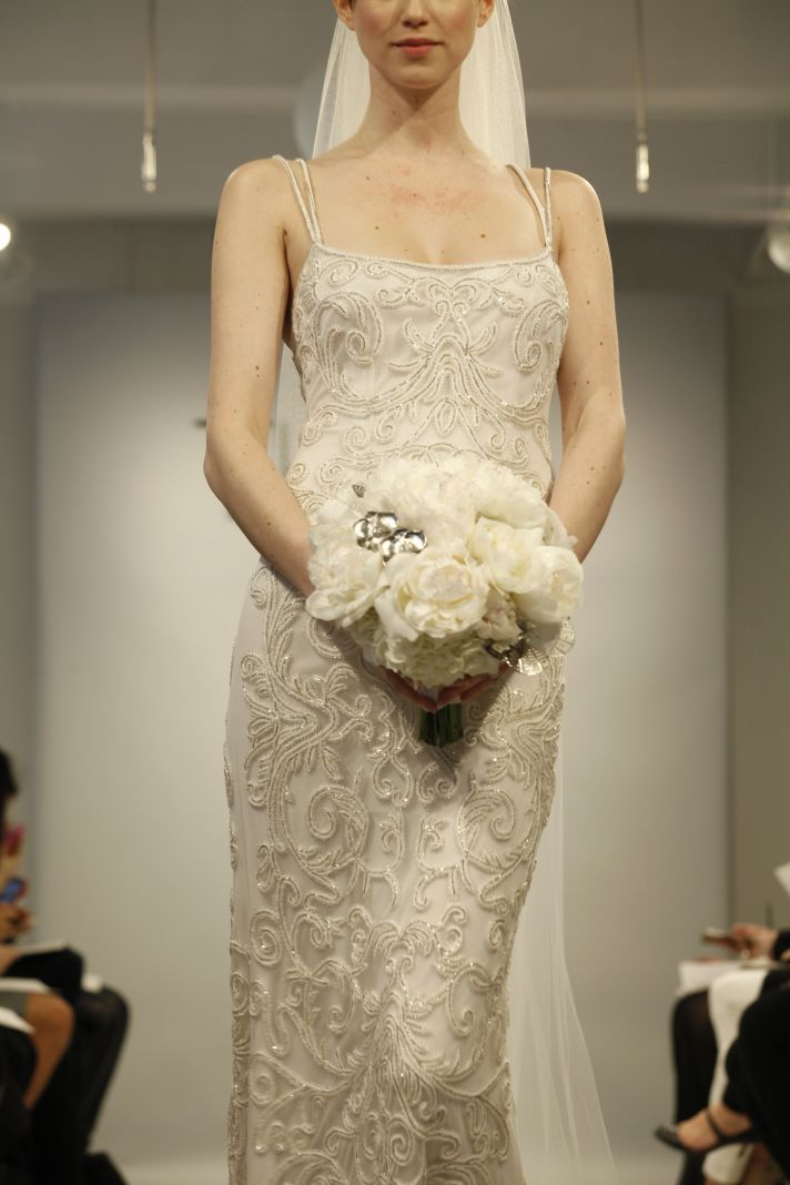 Theia Spring2014 wedding dress bridal gown Nicole