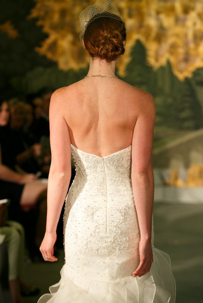 Wedding dress by Anne Barge Spring 2014 Bridal Belle de Jour