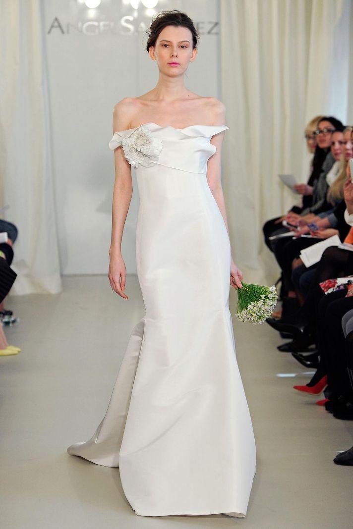 Angel Sanchez wedding dress Spring 2014 Bridal 7
