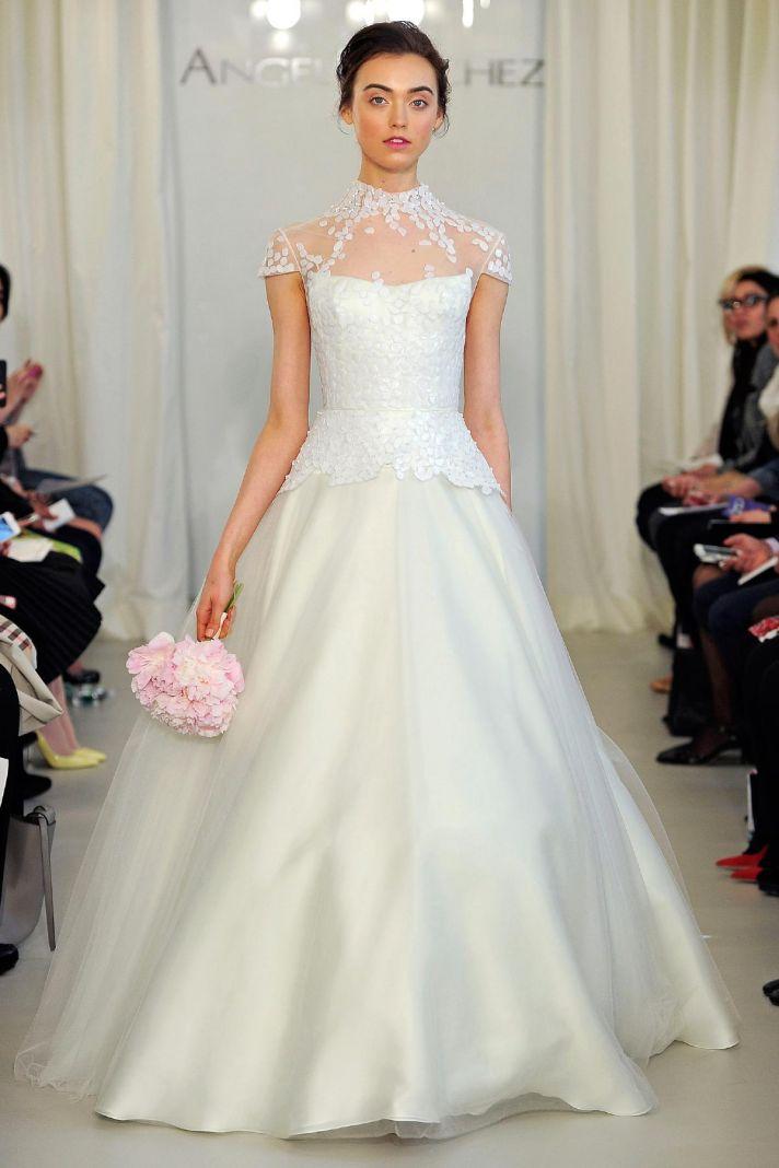 Angel Sanchez wedding dress Spring 2014 Bridal 17