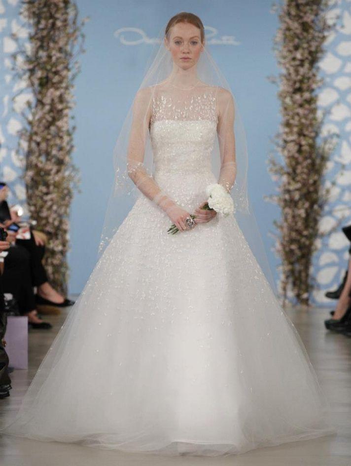 Wedding Dress by Oscar de la Renta Spring 2014 Bridal 18