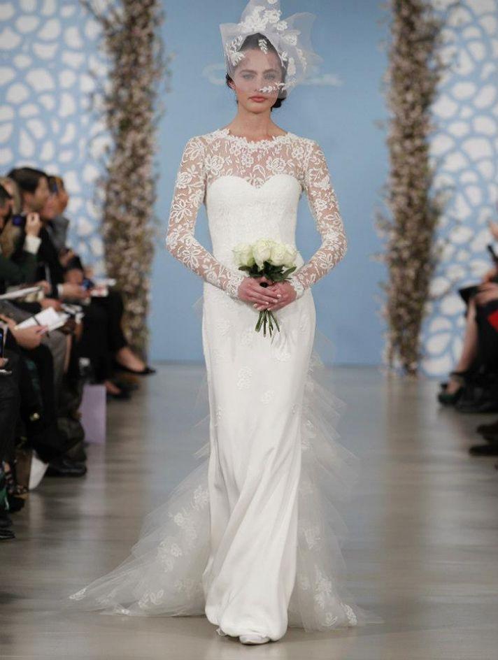 Fairy tale wedding gowns by oscar de la renta spring 2014 for De la renta wedding dresses