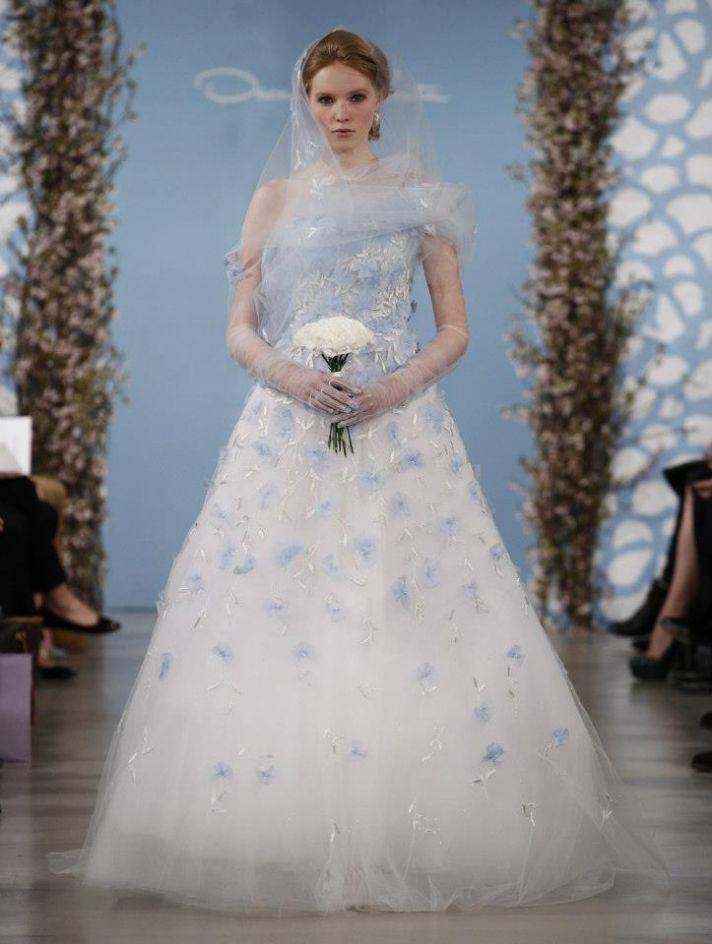 Wedding Dress by Oscar de la Renta Spring 2014 Bridal 1