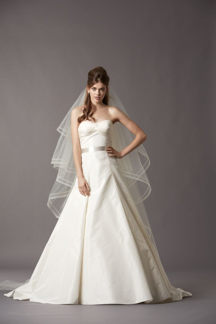 Gorgeous new wedding gowns from watters onewed for How much are watters wedding dresses