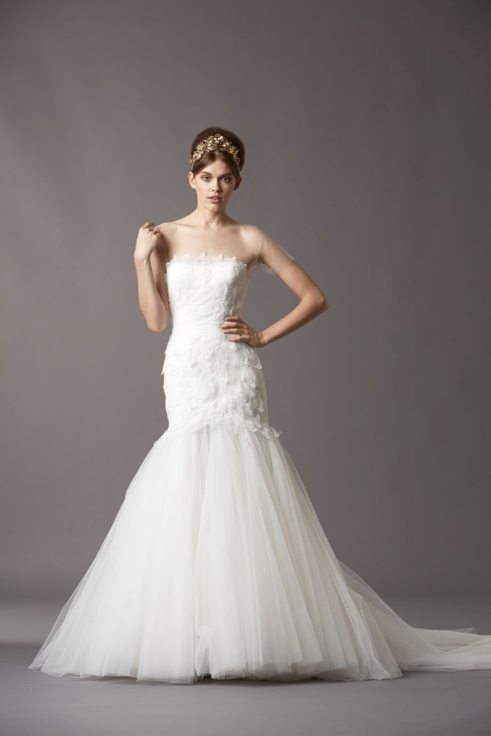 Watters Bridal Gowns Fall 2013 Wedding Dress 4057B