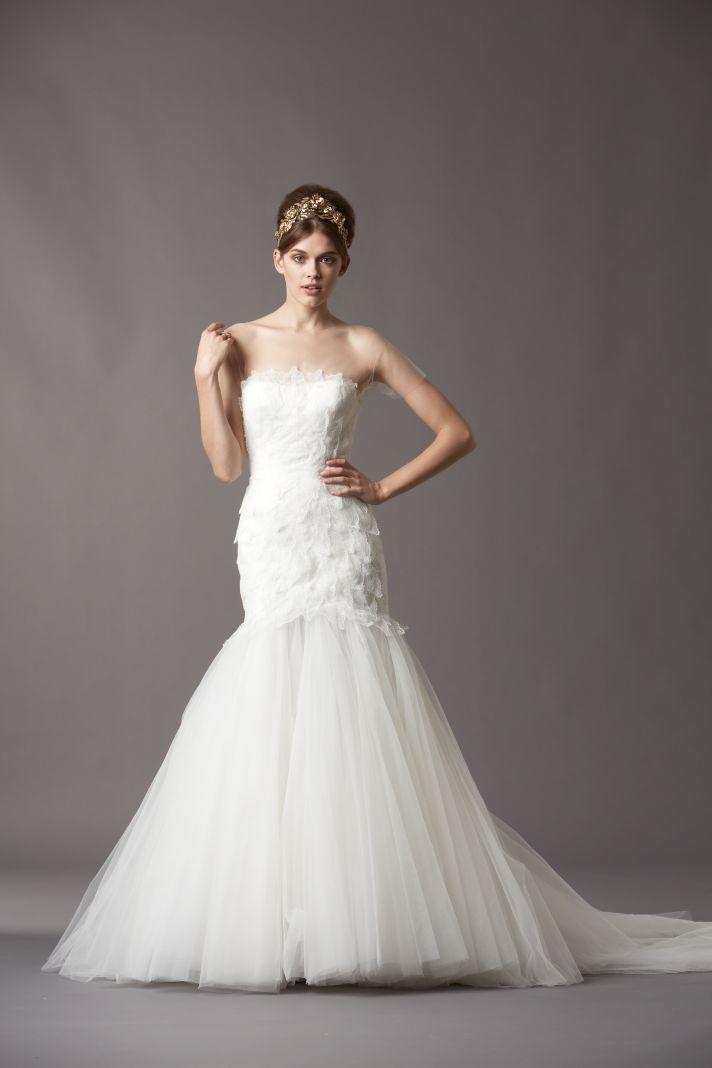 Watters Bridal Gowns Fall 2013 Wedding Dress 4057B