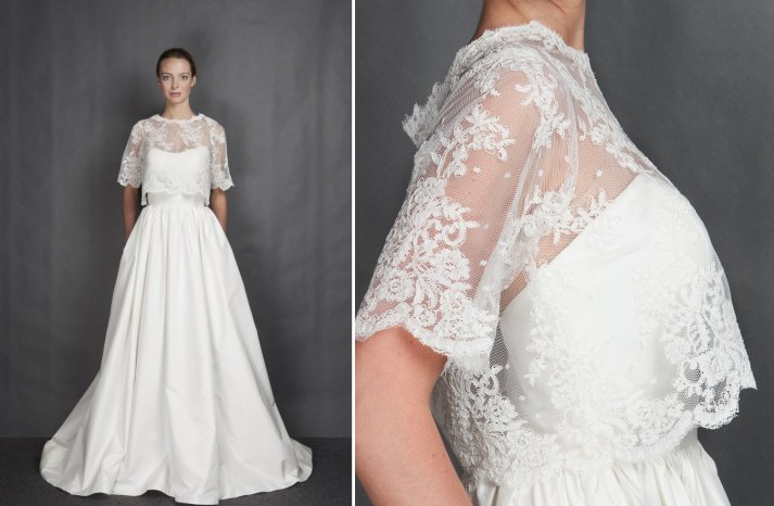 Heidi Elnora wedding dress Spring 2014 Bridal LaLa Phillips