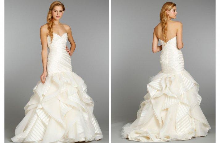 Hayley Paige wedding dress Fall 2013 Bridal 6351