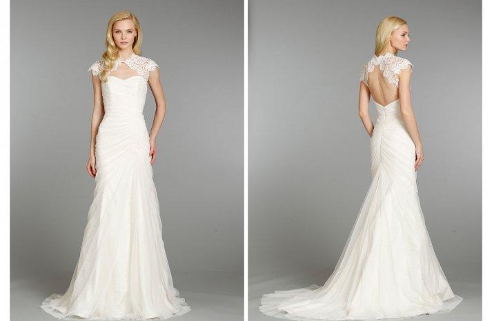 Hayley Paige wedding dress Fall 2013 Bridal 6355