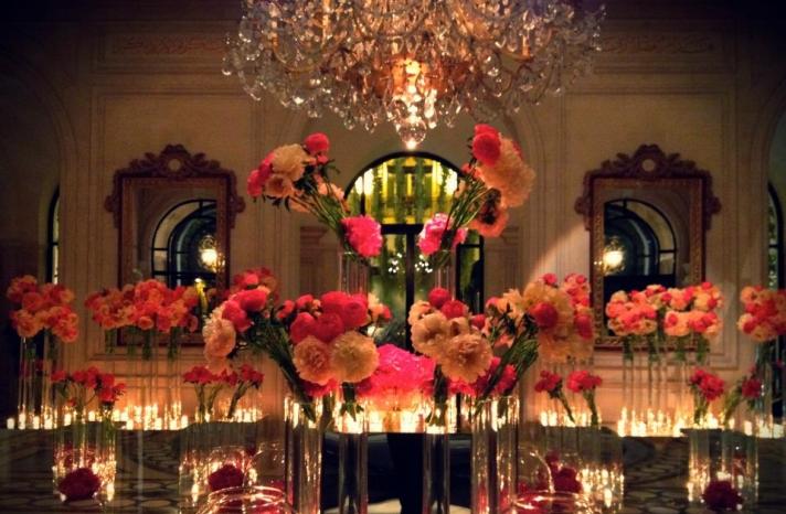wedding flower inspiration the Jeff Leatham Lookpeonies