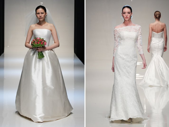 Stewart Parvin bridal Spring 2014 wedding dresses 1
