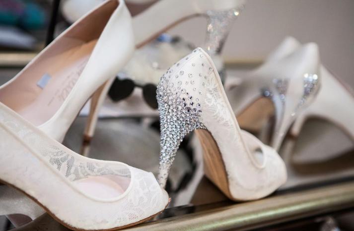Wedding shoes by Harriet Wilde bridal heels 4