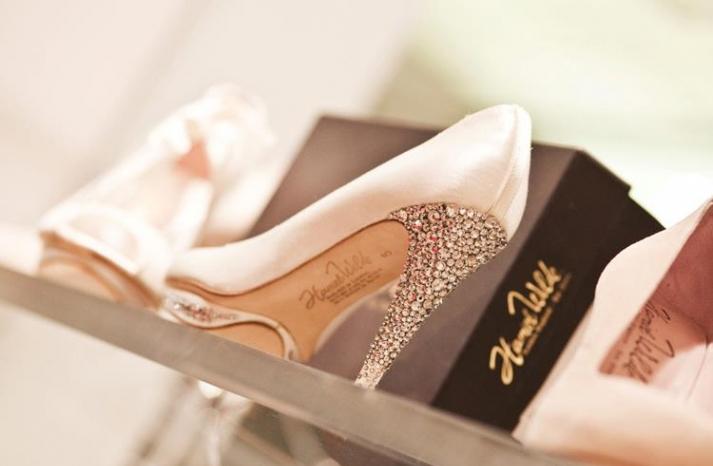 Wedding shoes by Harriet Wilde bridal heels 9