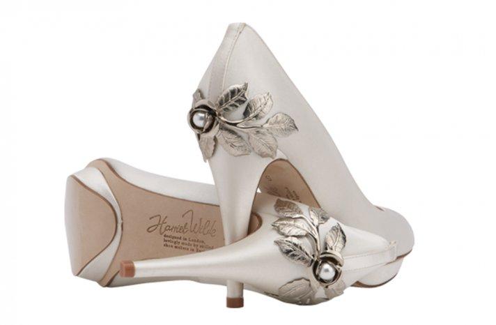 Wedding shoes by Harriett Wilde bridal heels Gardenia