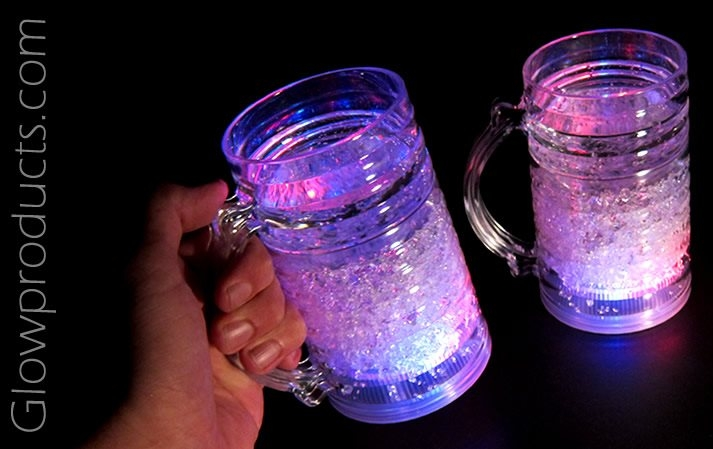 glow in the dark wedding mugs