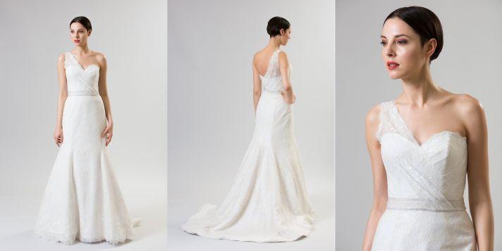 classic and modern junko yoshioka summer spring 2014 wedding dress brioche