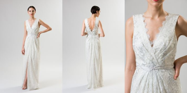 necklines we love junko yoshioka summer spring 2014 wedding dress frambois