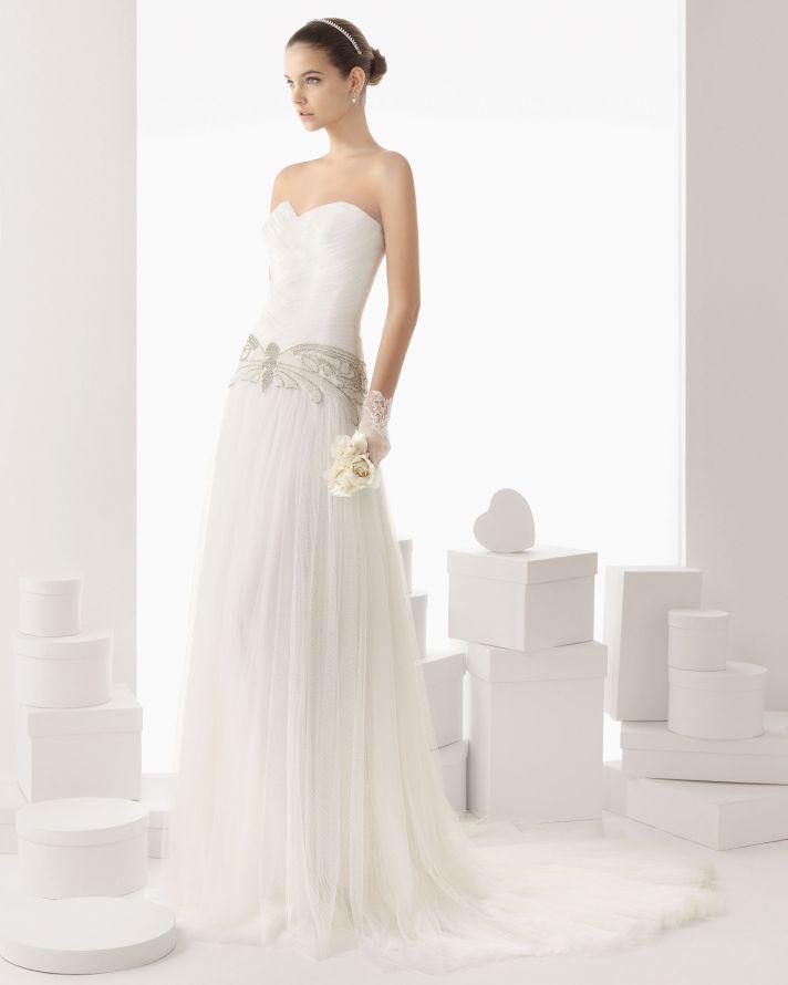 Rosa Clara wedding dress 2014 bridal Cancion
