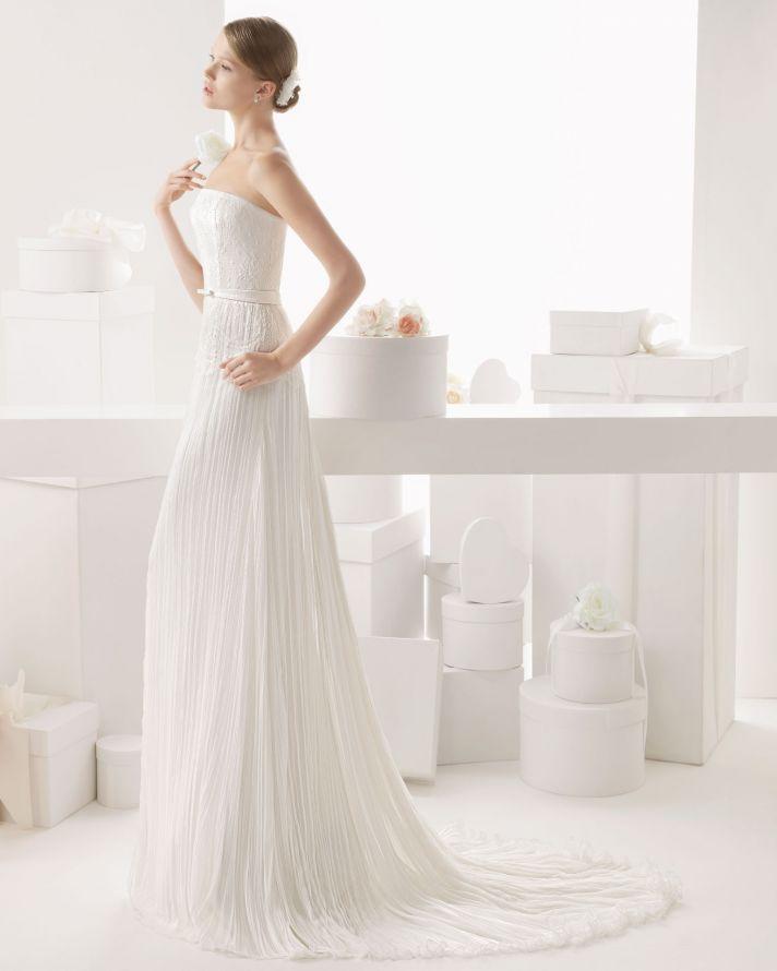 Rosa Clara wedding dress 2014 bridal Cauce