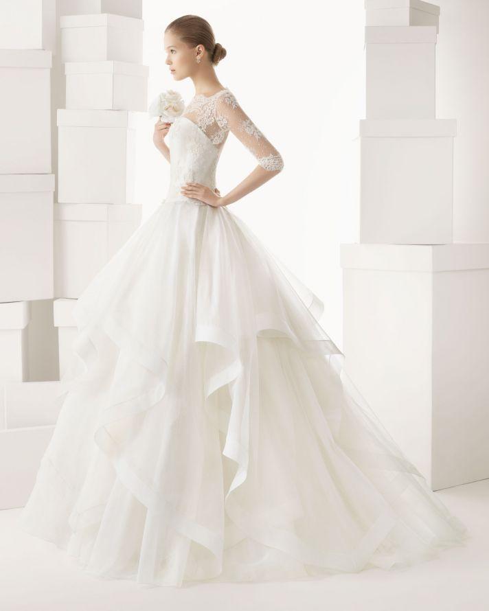 Rosa Clara wedding dress 2014 bridal Cazorla