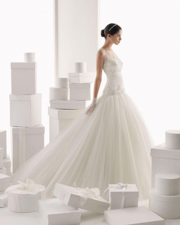 Rosa Clara wedding dress 2014 bridal Camila