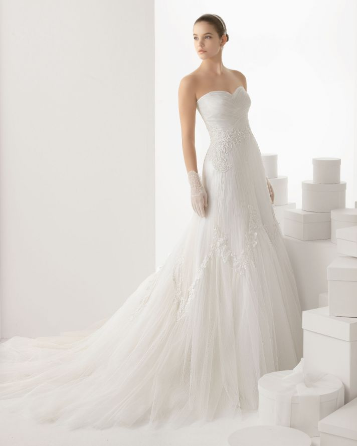 Rosa Clara wedding dress 2014 bridal Carlota