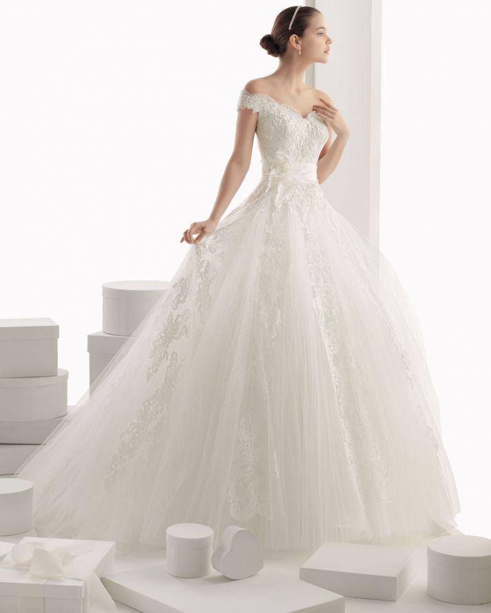 Rosa Clara wedding dress 2014 bridal Carmina