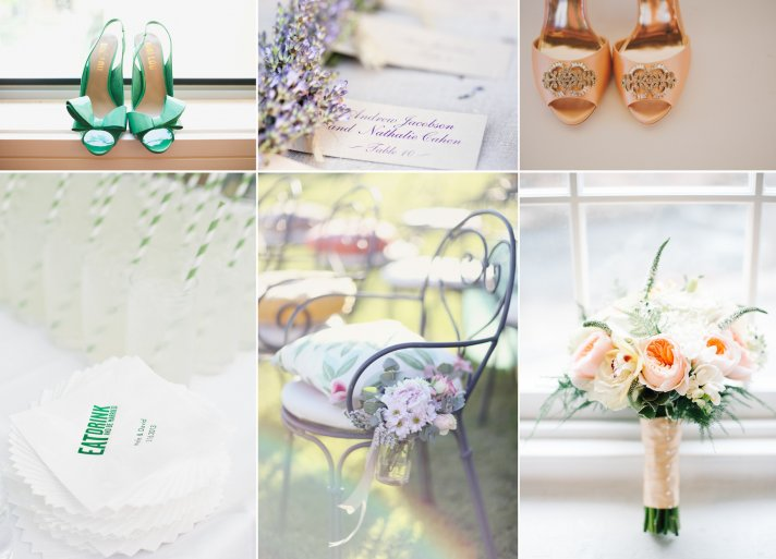 3 wedding color palettes perfect for Summer