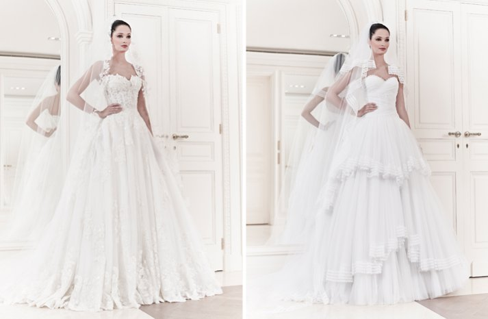 2014 wedding gowns by zuhair murad for Zuhair murad wedding dresses prices