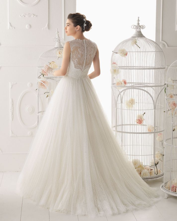Aire Barcelona wedding dress 2014 Bridal Ocarina