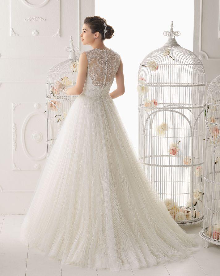 Aire Barcelona wedding dress 2014 Bridal Ocarina