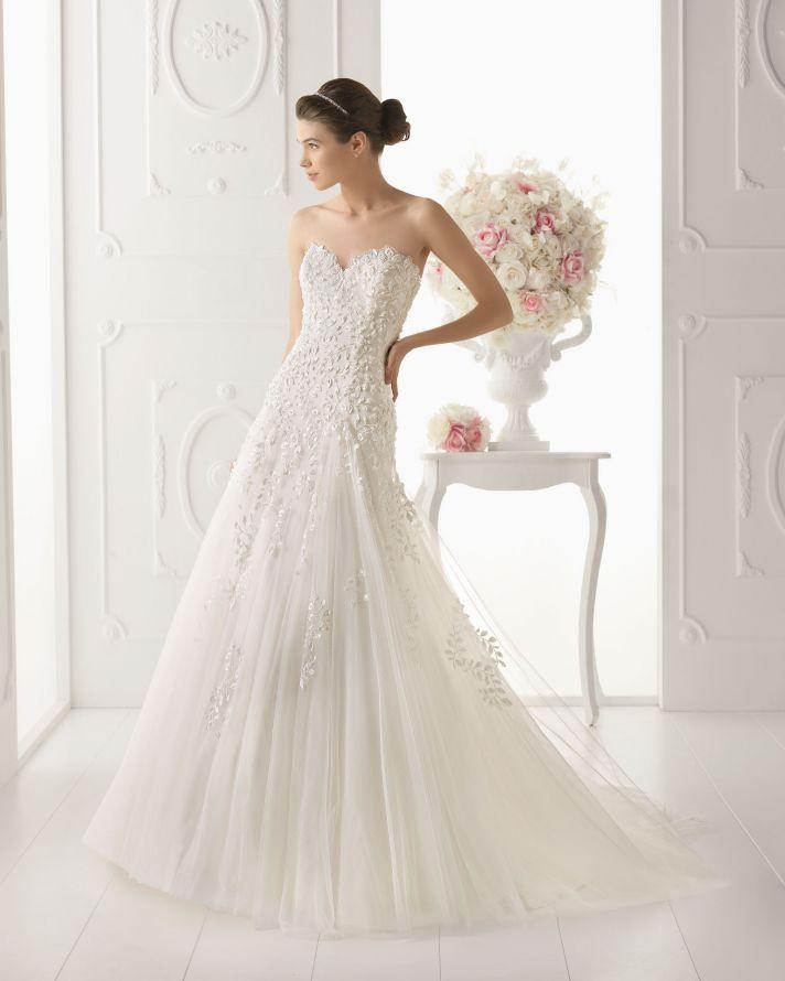 Aire Barcelona wedding dress 2014 Bridal Odisea