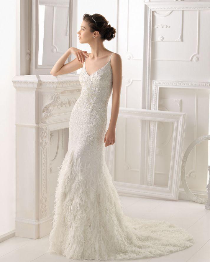 Aire Barcelona wedding dress 2014 Bridal Ondara