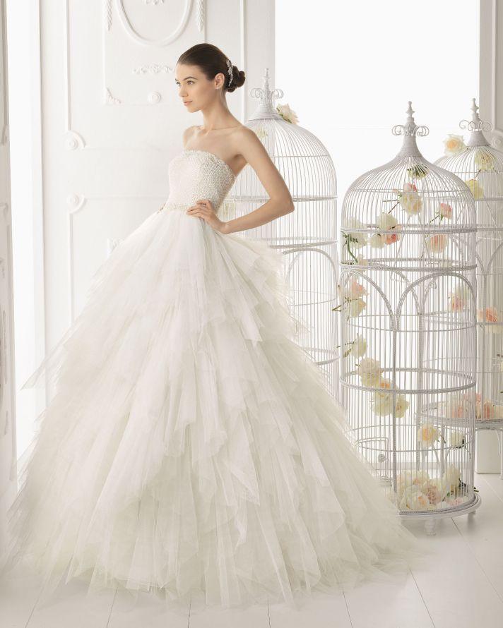 Aire Barcelona wedding dress 2014 Bridal Ordesa