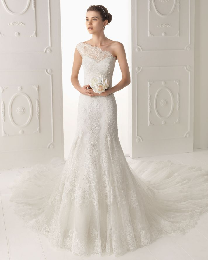Aire Barcelona wedding dress 2014 Bridal Oyambre