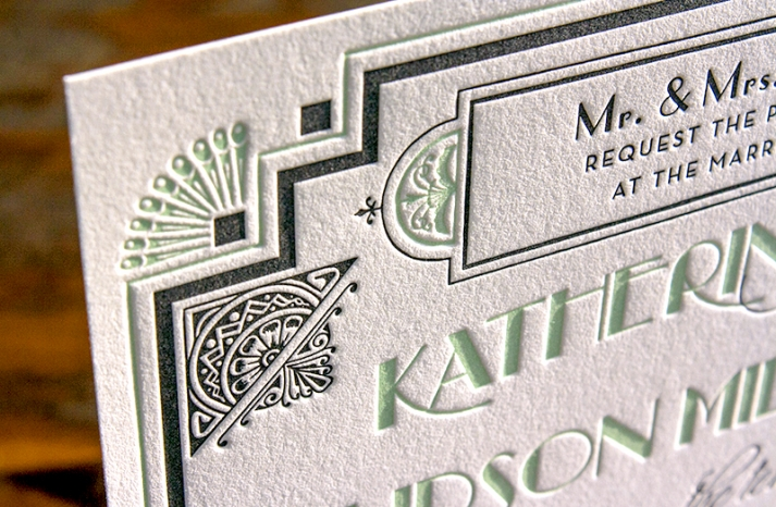 great gatsby inspired wedding invitations original