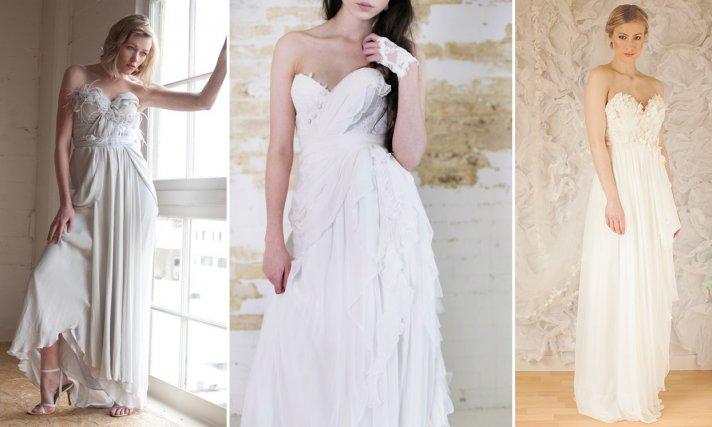 Wedding Dresses Fife 37 New Dove gray romantic wedding