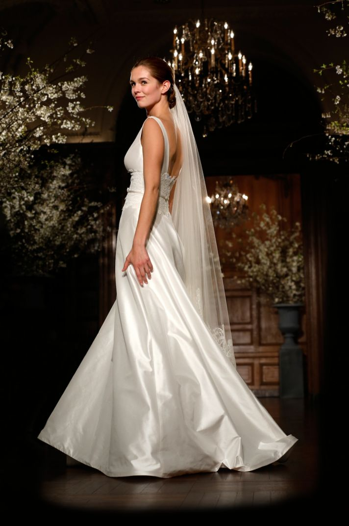 Romona Keveza wedding dress Legends bridal spring 2014 L504