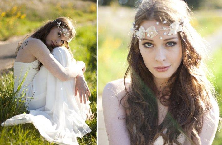 Stunning wedding veils and headpieces by Serephine 5