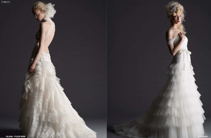 Cymbeline Paris wedding dress 2014 bridal preview lookbook 3